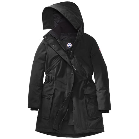 Women's Kinley Parka-Canada Goose-Black-L-Uncle Dan's, Rock/Creek, and Gearhead Outfitters