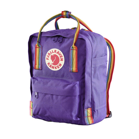 Kanken Rainbow Mini-Fjallraven-Deep Blue Rainbow Pattern-Uncle Dan's, Rock/Creek, and Gearhead Outfitters