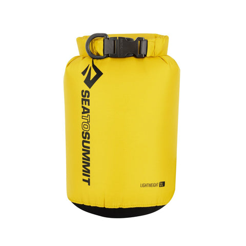 Lightweight Dry Sack 2L-Sea to Summit-Yellow-Uncle Dan's, Rock/Creek, and Gearhead Outfitters