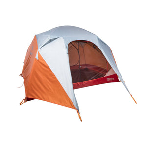 Limestone 4P Tent-Marmot-Orange Spice/Arona-Uncle Dan's, Rock/Creek, and Gearhead Outfitters