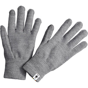 Liner Gloves-Smartwool-Silver Gray Heather-L-Uncle Dan's, Rock/Creek, and Gearhead Outfitters