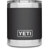 Rambler 10 oz Lowball with Standard Lid-Yeti-Charcoal-Uncle Dan's, Rock/Creek, and Gearhead Outfitters