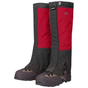 Men's Crocodile Gaiters-Outdoor Research-Chili Black-M-Uncle Dan's, Rock/Creek, and Gearhead Outfitters