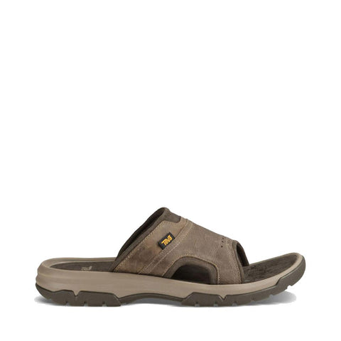 Men's Langdon Slide Sandal-Teva-Walnut-8-Uncle Dan's, Rock/Creek, and Gearhead Outfitters