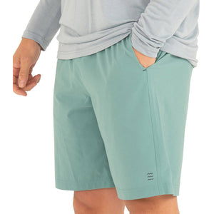Free Fly Men's Lined Breeze Short-MLBS_Bottle Green