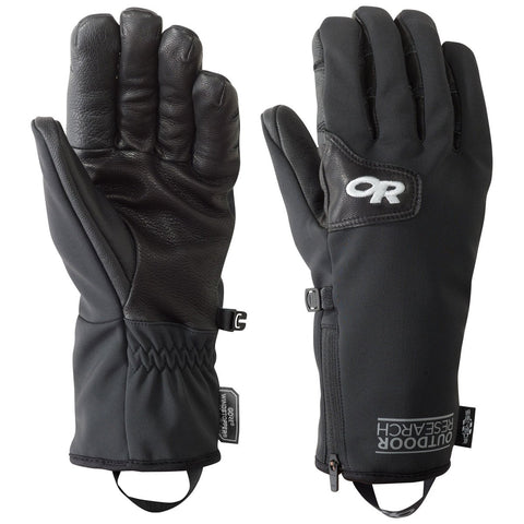 Men's Stormtracker Sensor Gloves-Outdoor Research-Black-S-Uncle Dan's, Rock/Creek, and Gearhead Outfitters