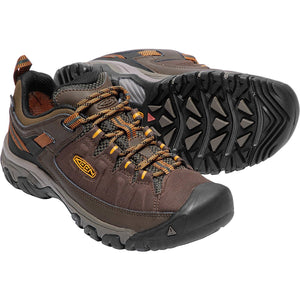 Men's Targhee EXP Waterproof Hiking Shoe-KEEN-Cascade Inca Gold-10-Uncle Dan's, Rock/Creek, and Gearhead Outfitters
