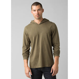 Men's prAna Hoodie-prAna-Denim Heather-S-Uncle Dan's, Rock/Creek, and Gearhead Outfitters