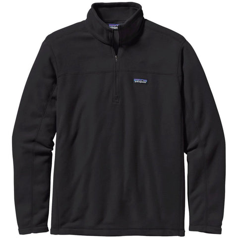 Men's Micro D Fleece Pullover-Patagonia-Black-L-Uncle Dan's, Rock/Creek, and Gearhead Outfitters