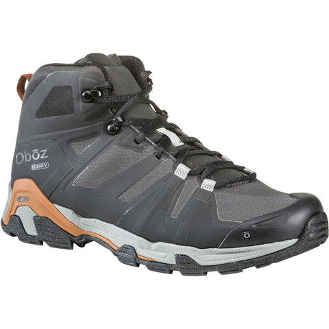 Men's Arete Mid Waterproof-Oboz-Black/ Copper-9-Uncle Dan's, Rock/Creek, and Gearhead Outfitters