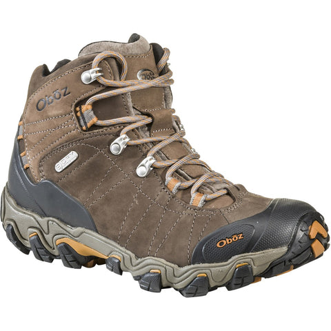 Men's Bridger Mid Waterproof - Wide-Oboz-Sudan-8-Uncle Dan's, Rock/Creek, and Gearhead Outfitters