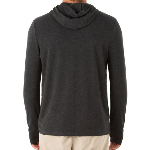 Free Fly Men's Bamboo Crossover Hoody-MCO_Heather Black