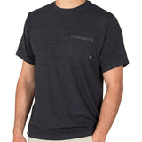 Free Fly Men's Bamboo Flex Pocket Tee-MFT_Heather Black