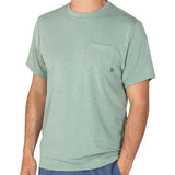 Free Fly Men's Bamboo Flex Pocket Tee-MFT_Heather Marsh