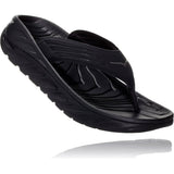 HOKA ONE ONE Men's Ora Recovery Flip-1099675_Black / Dark Gull Gray