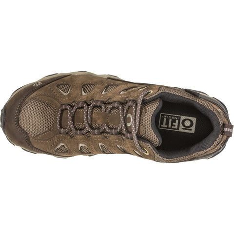 Men's Sawtooth II Low Waterproof-Oboz-Walnut-8-Uncle Dan's, Rock/Creek, and Gearhead Outfitters