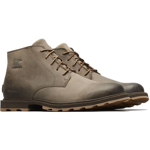 Men's Madson Chukka Waterproof Boot - Clearance-Sorel-Major Cordovan-8-Uncle Dan's, Rock/Creek, and Gearhead Outfitters