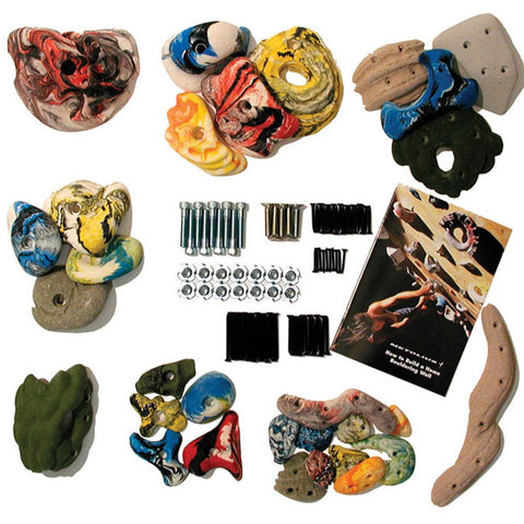 Mega 30 Pack Climbing Holds-Metolius-Assorted-Uncle Dan's, Rock/Creek, and Gearhead Outfitters