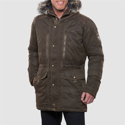 Men's Arktik Down Parka-KUHL-Raven-M-Uncle Dan's, Rock/Creek, and Gearhead Outfitters
