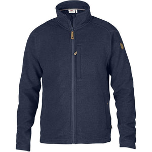 Men's Buck Fleece-Fjallraven-Dark Navy-L-Uncle Dan's, Rock/Creek, and Gearhead Outfitters