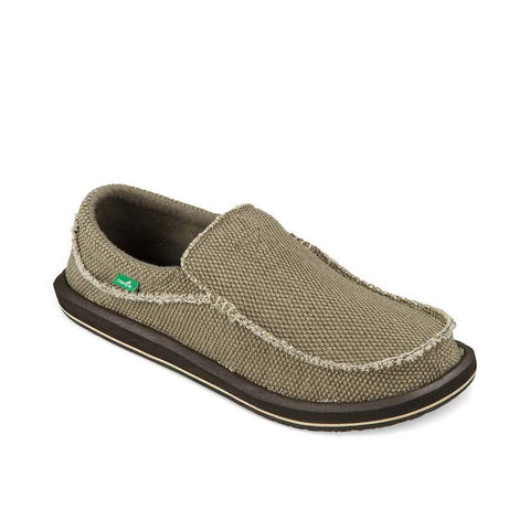 Men's Chiba Sidewalk Surfer-Sanuk-Brown-13-Uncle Dan's, Rock/Creek, and Gearhead Outfitters