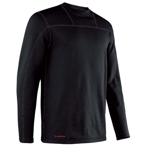 Men's Ecolator Crew-Terramar-Black-S-Uncle Dan's, Rock/Creek, and Gearhead Outfitters