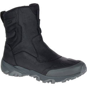 "Men's Coldpack ICE+ 8"" Zip Polar Waterproof Boot-Merrell-Black-10-Uncle Dan's, Rock/Creek, and Gearhead Outfitters"