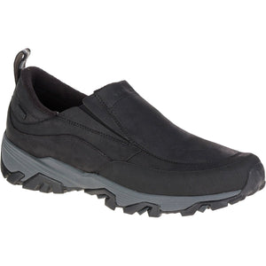 Men's Coldpack Ice+ Moc Waterproof-Merrell-Black-10.5-Uncle Dan's, Rock/Creek, and Gearhead Outfitters