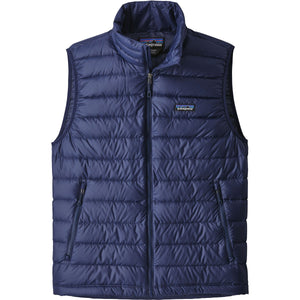 Men's Down Sweater Vest-Patagonia-Classic Navy w Classic Navy-L-Uncle Dan's, Rock/Creek, and Gearhead Outfitters