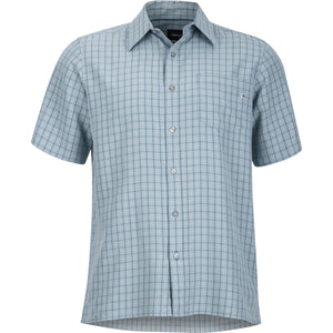 Men's Eldridge Short Sleeve Shirt-Marmot-Blue Granite-L-Uncle Dan's, Rock/Creek, and Gearhead Outfitters