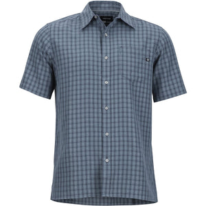 Men's Eldridge Short Sleeve Shirt-Marmot-Steel Onyx-M-Uncle Dan's, Rock/Creek, and Gearhead Outfitters