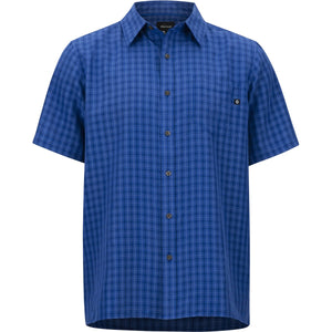 Men's Eldridge Short Sleeve Shirt-Marmot-Surf-M-Uncle Dan's, Rock/Creek, and Gearhead Outfitters