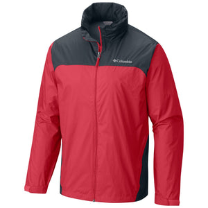 Men's Glennaker Lake Rain Jacket-Columbia-Mountain Red Graphite-L-Uncle Dan's, Rock/Creek, and Gearhead Outfitters