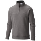 Men's Hart Mountain II Half Zip-Columbia-Charcoal Heather-L-Uncle Dan's, Rock/Creek, and Gearhead Outfitters