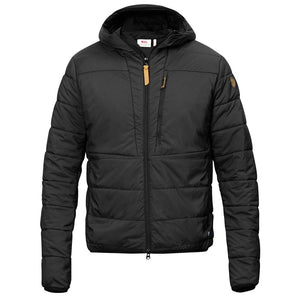 Men's Keb Padded Hoodie-Fjallraven-Black-L-Uncle Dan's, Rock/Creek, and Gearhead Outfitters