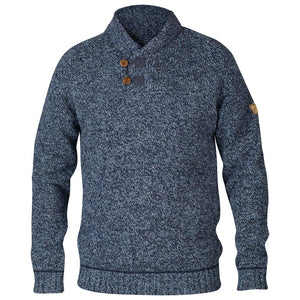 Men's Lada Sweater-Fjallraven-Dark Navy-L-Uncle Dan's, Rock/Creek, and Gearhead Outfitters