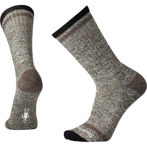 Men's Larimer Crew Socks-Smartwool-Black Taupe Heather-XL-Uncle Dan's, Rock/Creek, and Gearhead Outfitters