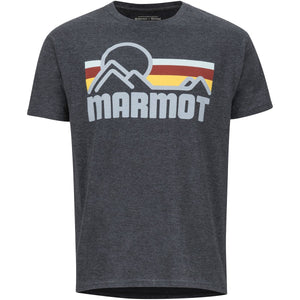 Men's Marmot Coastal Tee Short Sleeve Shirt-Marmot-New Charcoal Heather-L-Uncle Dan's, Rock/Creek, and Gearhead Outfitters