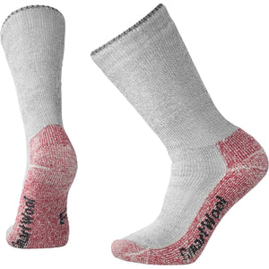 Men's Mountaineering Extra Heavy Crew Socks-Smartwool-Charcoal Heather-S-Uncle Dan's, Rock/Creek, and Gearhead Outfitters