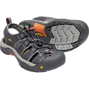 Men's Newport H2 Sandal-KEEN-India Ink Rust-8-Uncle Dan's, Rock/Creek, and Gearhead Outfitters