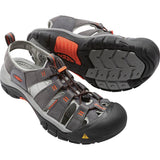 Men's Newport H2 Sandal-KEEN-Magnet Nasturtium-8-Uncle Dan's, Rock/Creek, and Gearhead Outfitters