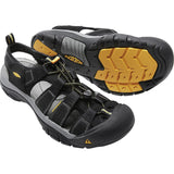 Men's Newport H2 Sandal-KEEN-Black-7-Uncle Dan's, Rock/Creek, and Gearhead Outfitters