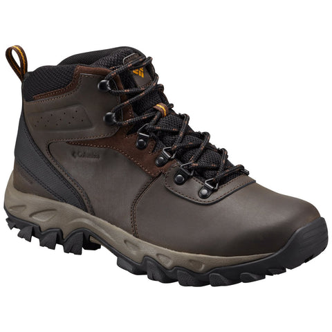 Men's Newton Ridge Plus II Waterproof Hiking Boot-Columbia-Cordovan Squash-10-Uncle Dan's, Rock/Creek, and Gearhead Outfitters