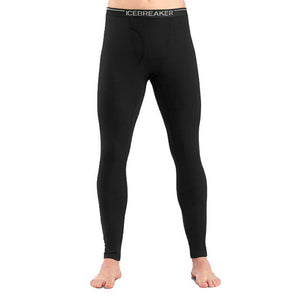 Men's Oasis Leggings w/Fly-Icebreaker-Black-XL-Uncle Dan's, Rock/Creek, and Gearhead Outfitters