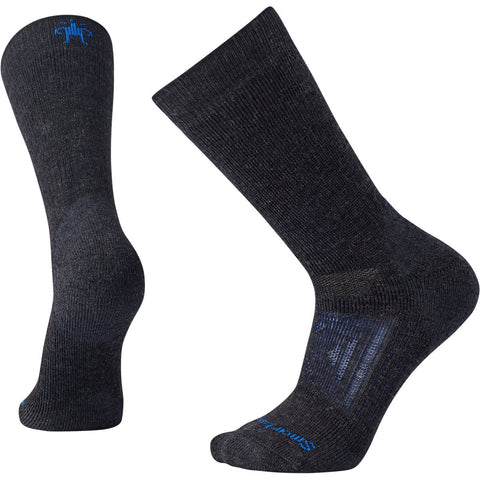 Men's PhD Outdoor Heavy Crew Socks - Clearance-Smartwool-Charcoal-M-Uncle Dan's, Rock/Creek, and Gearhead Outfitters