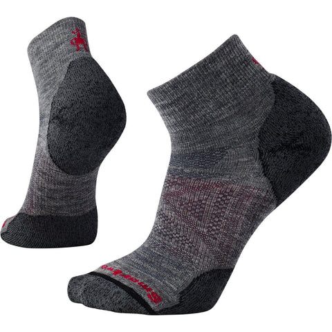 Men's PhD Outdoor Light Mini Socks-Smartwool-Medium Gray-L-Uncle Dan's, Rock/Creek, and Gearhead Outfitters