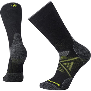 Men's PhD Outdoor Medium Crew Socks-Smartwool-Black-M-Uncle Dan's, Rock/Creek, and Gearhead Outfitters