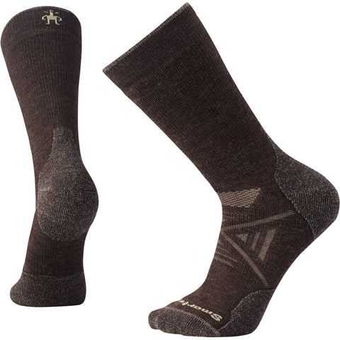 Men's PhD Outdoor Medium Crew Socks-Smartwool-Chestnut-M-Uncle Dan's, Rock/Creek, and Gearhead Outfitters