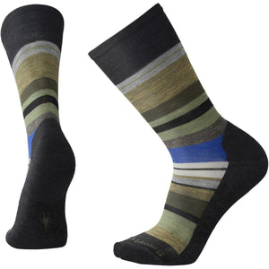 Men's Saturnsphere Socks-Smartwool-Charcoal Heather Light Loden Heather-XL-Uncle Dan's, Rock/Creek, and Gearhead Outfitters