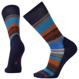 Men's Saturnsphere Socks-Smartwool-Deep Navy Heather Cardamom-L-Uncle Dan's, Rock/Creek, and Gearhead Outfitters